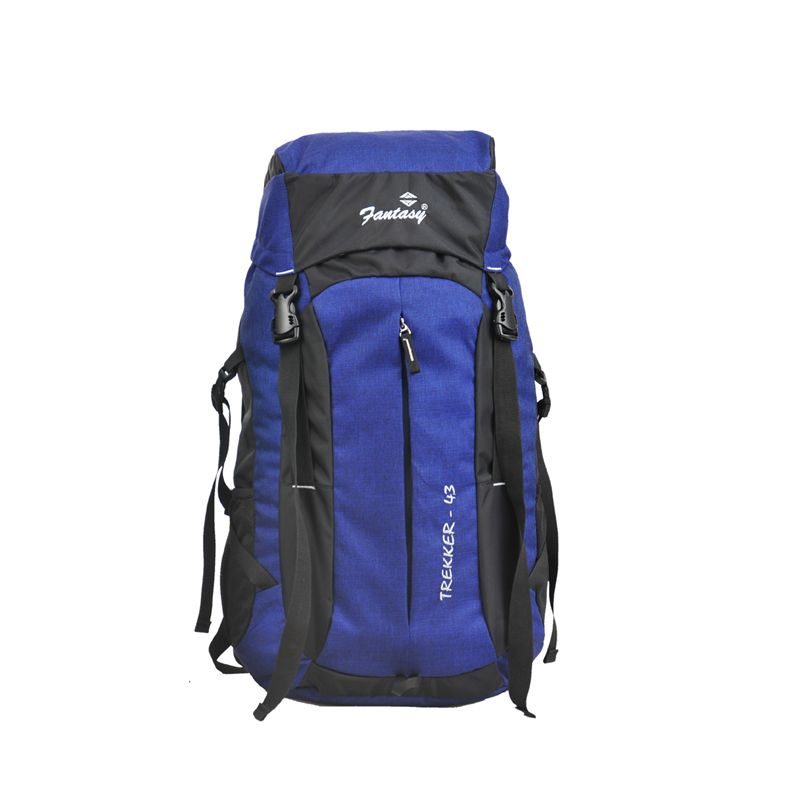 TREKKER ROYAL BLUE-BLACK WITH INTEGRATED RAIN COVER